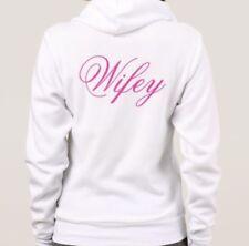 Men's Women's Personalised Hoodies King Queen His Hers Wedding Mr And Mrs