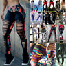 Sports Women's Compression Fitness Leggings Running Yoga Gym Push Workout Pants