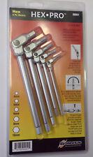 Bondhus 00051 Hex Pro™ Pivot Head Metric Hex Wrench Set 4-10mm, 5pcs