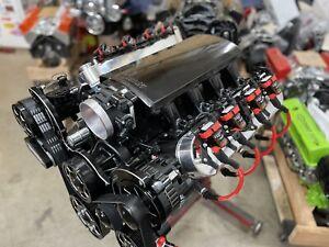 CHEVY 6.2LS- -550-640 HP COMPLETE CRATE ENGINE PRO-BUILT AFR CNC heads  ls3 LS9