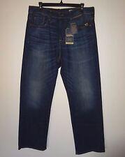 Cremieux Premium Mens Blue Jeans Relaxed Fit Stretch Denim Indigo (#3) 36x30 NWT