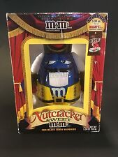 M&M's Blue Nutcracker Sweet Chocolate Dispenser Holiday Limited Edition NIB