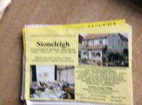 q1-r ephemera 1987 advert skegness hotel stoneleigh