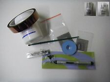 BGA Reballing Direct Heat Reflowing Stencil Solder Balls Kingbo Flux Full Kit