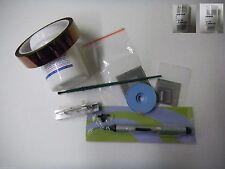 BGA Reballing Direct Heat Reflowing Stencil Solder Balls Kingbo Flux Full Kit