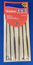 Nicholson Red Wallet (6) Needle Mini Files 42030