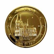 ++ 2 Euro Deutschland 2011 - NRW / Kölner Dom - 24 Karat vergoldet ++