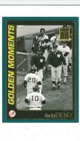 2001 Topps Home Team Advantage #782 Bucky Dent Golden Moments Yankees MLB Card