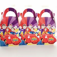 5x The Wiggles Lolly Loot Bag Box Party Supplies Favor Bunting Banner Cake Flag
