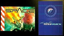 Disney Fast Pass -Epcot Test Track & Mission Space Height Requirement Group Card