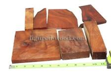 MIX AMBOYNA BURL,CUT OFF, #0246 - PLEASE SEE PICTURES(Wood Carving, Crafts Wood)