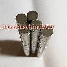 200pcs Neodymium Disc 10mm X 1mm Rare Earth N35 Strong Magnets Craft Models
