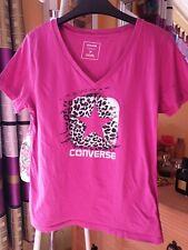Damen Converse Tshirt Pink Gemustert Gr.M Top!!