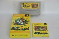 SUPER MARIO WORLD Ref/155 Super Famicom Nintendo sf