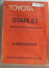 Werkstatthandbuch / Shop manual Toyota Starlet KP 60 1978, 79, 80, 81, 82, 83/84