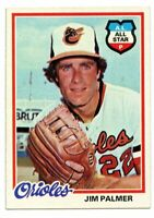 1978 Topps #160 Jim Palmer Vintage Card~NM-MT+/MINT~Baltimore Orioles HOF
