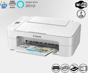 Wireless All-In-One Printer Copier Scanner WiFi Alexa Smart TS3322 (NO INK)
