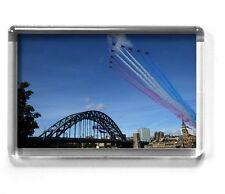 TYNE BRIDGE fridge magnet 7x4.5cm RED ARROWS Great North Run Newcastle Upon Tyne