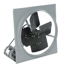 "24"" Exhaust Fan - Belt Driven - 120 Volts - 1/3 HP - 3,270 CFM - 1 Ph - 5 Amps"