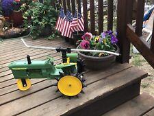 John Deere 4010 Die Cast Self Traveling Lawn Sprinkler Pre-owned
