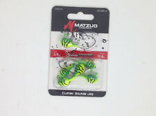 6 x 10g Matzuo Lead Jig Heads Fishing Lures Soft Plastics Gulp Berkley