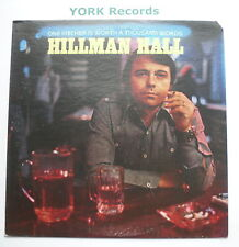 HILLMAN HALL - One Pitcher Is Worth A Thousand Works - Ex LP Record Warner Bros