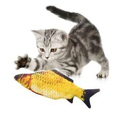 Pet Soft Plush 3D Fish Shape Cat Toy Interactive Gifts Fish Catnip Toys Stuffed