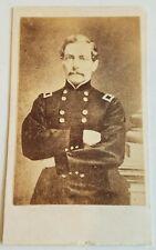 CDV Confederate General P G T Beauregard Civil War Photo Original CSA