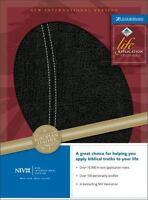 NIV Life Application Study Bible [New International Version] by Zondervan , Leat