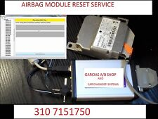 UP TO 2018 ALL AIRBAG MODULE COMPUTER SDM RCM SAS  ECU RESET SERVICE