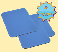 Mouse Pad PC Laptop |3-Pack| Computer Notebook Gaming Mat Soft Thick comfort