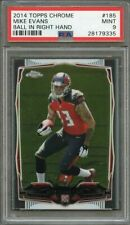 2014 topps chrome #185 MIKE EVANS tampa bay buccaneers rookie card PSA 9