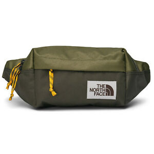 The North Face - Lumbar Pack Belt Bag waist fanny - Burnt Olive Green/New Taupe