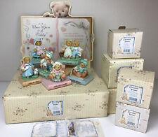 Cherished Teddies: Large Lot Nursery Rhyme Book Display, Cardboard, 6  Figurines