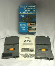 Kraco Stereo Cassette Adaptor for 8-Track Tape Players Model KCA-7A Box Car Home