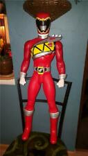 "Power Rangers Dino Charge 31"" Tall Red Figurine Toy Action Figure Jakks Pacific"