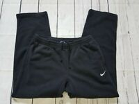 Nike Heavy Sweatpants Mens XL Black Pockets Drawstring Lounge Athletic Pants   H