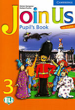 Cambridge JOIN US FOR ENGLISH 3 Pupil's Book / Class book @BRAND NEW@