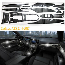 5D Luxury Reflective Carbon Fiber Interior Trim Decal For 2013-2017 Cadillac ATS