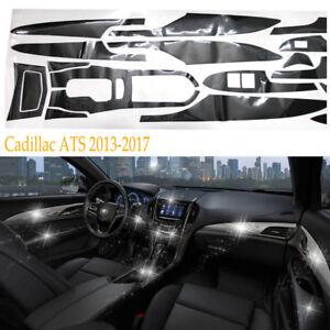 5D Luxury Reflective Carbon Fiber Interior Trim Decal For 2013-2017 Cadillac ATS