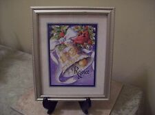 Home Interiors Rejoice Picture 11.5 x 9.5 Very Colorful