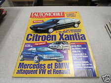 L AUTOMOBILE MAGAZINE N° 558 1992 MG RV8, MERCEDES 600 SEC, AUDI 100 S4, PEUGE *