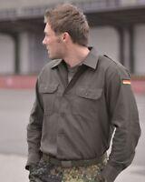 Genuine German Army Issued BW Olive Drab Field Shirt GRADE 1
