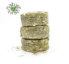 More details for nature first small animal rabbit rodents grass hay cookies with dandelion 200g
