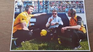 NICO HULKENBERG RENAULT F1 RACING DRIVER HAND SIGNED AUTOGRAPHED A4 PICTURE