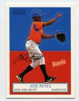 2004 Topps Bazooka JOSE REYES Rare STAND UPS POP-UP INSERT CARD #1 New York Mets