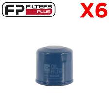 6 x WZ436 Wesfil oil Filter - Ford, Honda, Kia, Mazda, Mitsubishi, Nissan - Z436