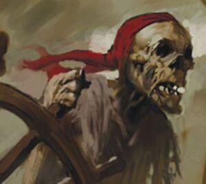 Pirates of the Davy Jones Curse - #121 Helmsman The Cursed