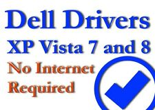 Dell Windows Drivers - All Desktops Laptops Supported Windows XP VISTA 7 & 8
