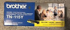 Brother TN-115Y Yellow Toner Cartridge 4K Genuine OEM Original